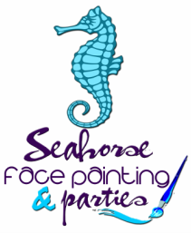 Seahorse Face Painting and Parties